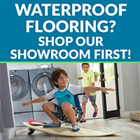 Waterproof Flooring? Shop our showroom first!