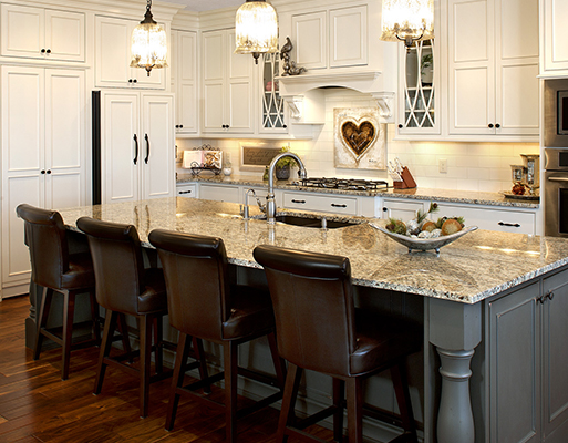 At Abbey Design Center we can help you with your kitchen remodel and bath remodel from the very beginning.