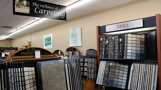 Buy your carpet from Abbey Design Center.
