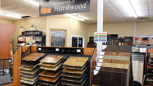 Abbey Design Center offers quality hardwood flooring at an affordable price.