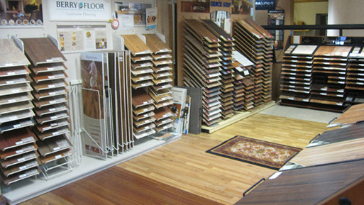 Buy your next laminate flooring from Abbey Design Center.