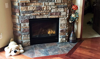 Abbey Design Center Home Remodeling - Fireplace Remodel